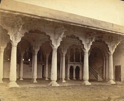 The Old Palace in the Fort, Bangalore.